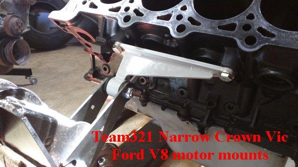 Ford Mod Motor – Motor Mounts   Team321