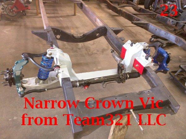 Narrow Crown Vic Installation | Team321