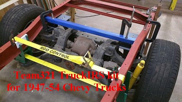 TruckIRS kit installation 1947-54 Chevy Trucks | Team321