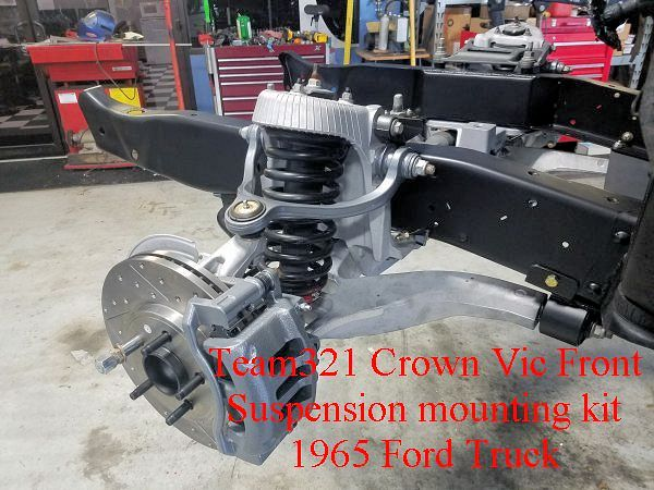 Crown Vic Installation Kit | Team321