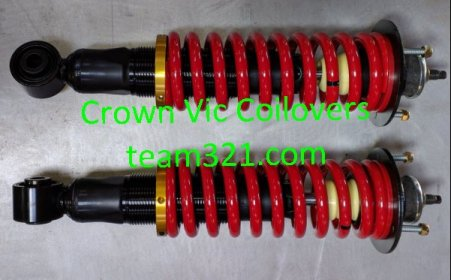 Crown Vic Coilovers | Team321